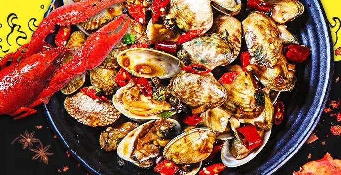 回味虾捞汁小海鲜