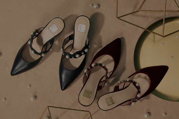 红蜻蜓皮鞋